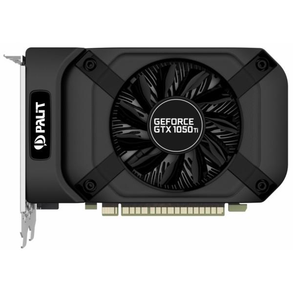 Видеокарта Palit GeForce GTX 1050 Ti STORMX 4Gb [NE5105T018G1-1070F]