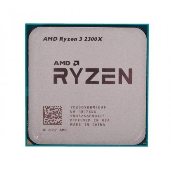 AMD Ryzen 3 2300X (4 GHz, AM4, 8Mb Cache) 4 ядра, 4 потока, OEM