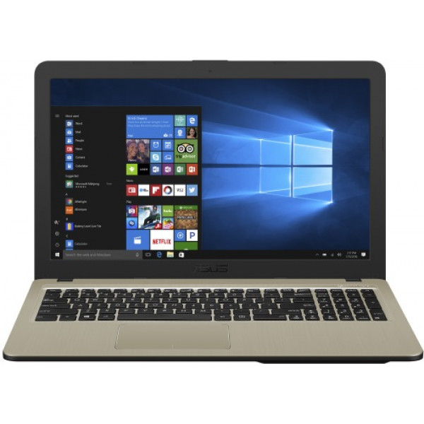 "Ноутбук Asus Ноутбук ASUS R540UB-DM619T (Intel Core i3 7020U 2300Mhz/15.6""/1920х1080/6GB/1TB/DVD нет/nVidia GeForce Mx110/Wi-Fi/Bluetooth/Win 10 Home)"