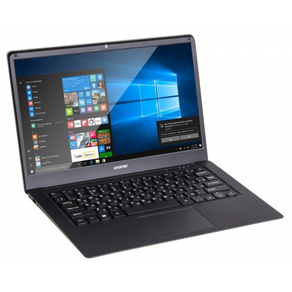 "Ноутбук Digma EVE 1401  (Intel Atom x5 Z8350 1440 - 1920 MHz/14.1""/1920x1080/2Gb/32Gb SSD/DVD нет/Intel HD Graphics 400/Wi-Fi/Bluetooth/Windows 10 Home)"