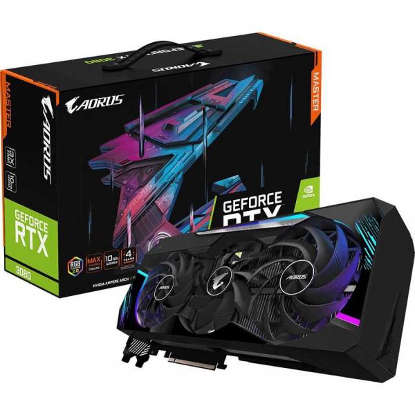 Видеокарта GIGABYTE GeForce RTX 3080 10Gb AORUS MASTER